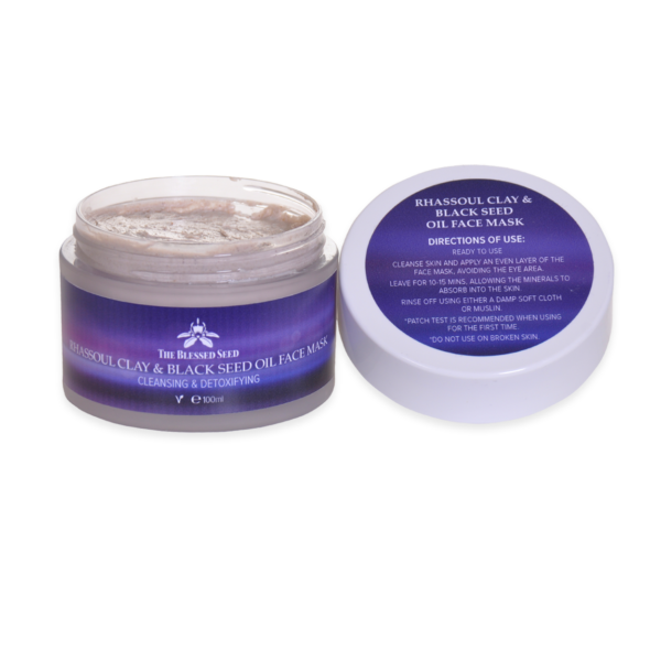 rhassoul clay face mask