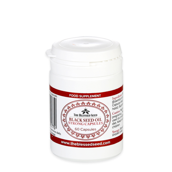 strong black seed oil capsules