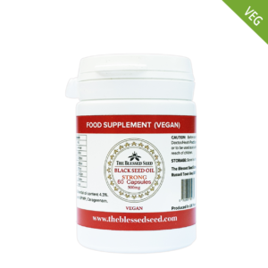 Vegan Black Seed oil Capsules