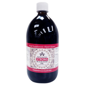 Hand grown Strong Black Seed oil